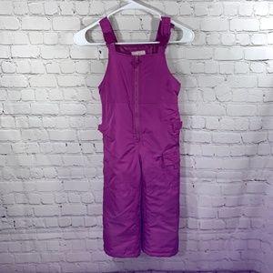 Snow Pants Snow Bib Insulated Osh Gosh Pink  5T